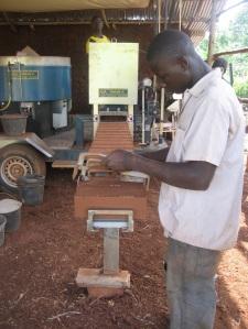 The brick-making machine