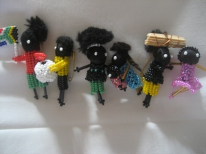 Little Travellers created by Hillcrest beadworkers