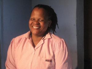 Jabu at her home in Molweni